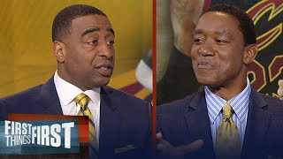 Download Isiah Thomas on LeBron James: 'If I'm him, I go to Golden State' | FIRST THINGS FIRST Video