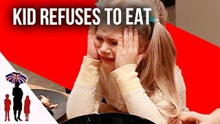 Download Defiant Kid Refuses To Eat Dinner | Supernanny Video