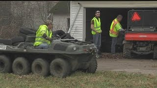 Download Stolen vehicles found buried at Youngstown house Video