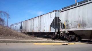 Download Adrian and Blissfield pushing into yard - March 29, 2011 Video