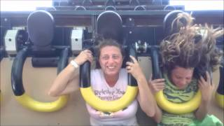 Download Carowinds: Southern Star on Ride POV / July 13, 2014 Video
