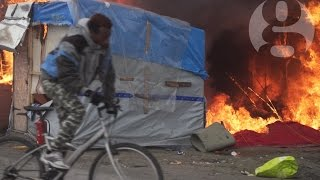 Download Where next? The last days of the Calais refugee camp Video