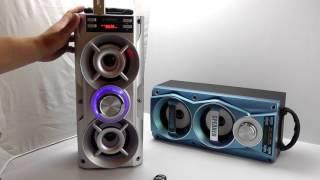 Download ОБЗОР: Мощная Портативная Стерео Bluetooth Колонка с FM Радио, MP3 и Пультом Управления Video