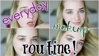 Download EVERYDAY MAKEUP ROUTINE! | Avrey Ovard Video