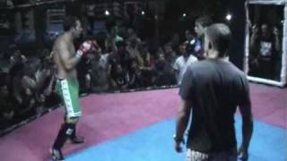 Download BBQ Beatdown 6 - Claire Haights beats male opponent - MMA in Thailand Video