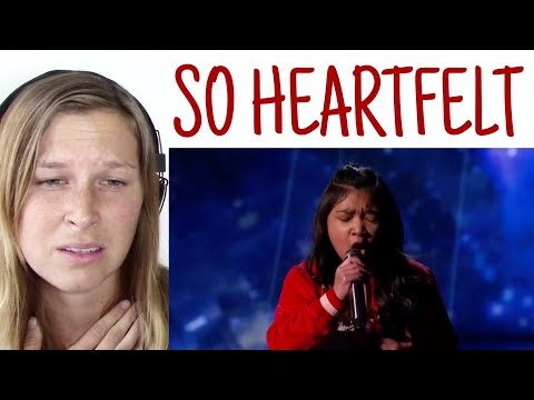 ANGELICA HALE - CLARITY ( America's got talent 2017 ) | REACTION