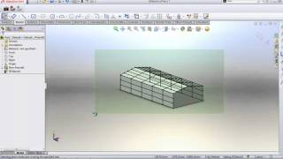 Download Solidworks-Build steel Structural frame -heigh speed method-,Part 1 Video