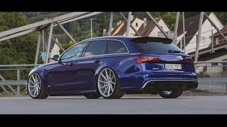 Download Blue Audi RS6 - Tuning   Vossen Wheels Video