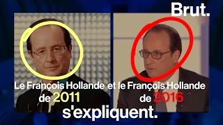 Download François Hollande 2011 VS François Hollande 2016 Video