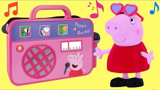 Download PEPPA PIG COMPILATION with Boom Box, Castle & Classroom Playset Video