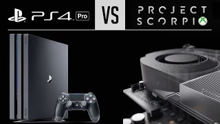 Download PS4 Pro vs Xbox Scorpio: How Are They Different? Video