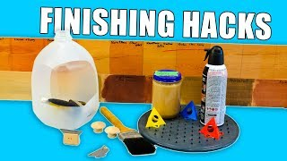 Download 5 Quick Wood Finishing Hacks - Woodworking Tips and Tricks Video