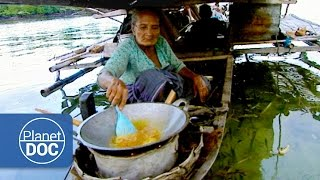 Download Indonesia. Floating Houses | Tribes & Ethnic Groups Video