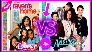 Download Raven's Home VS Andi Mack Musical.ly Battle   Top Disney Channel Stars Musically Video