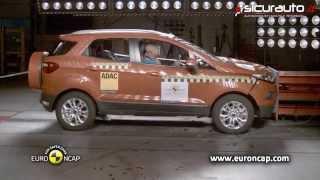 Download Ford Ecosport - Euro NCAP Crash test - ESC test Video