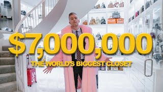 Download Inside the WORLD'S BIGGEST CLOSET | Ryan Serhant Vlog #99 Video