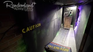 Download This kid built a Dark Ride in his HOUSE! Mystic Motel DIY Haunt at Halloween! Video