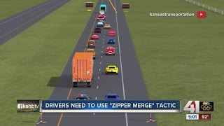 Download KDOT introduces zipper merge for US 69 project Video
