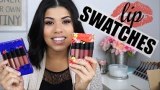Download COLOURPOP Holiday Lip kits | Swatches and Review Video