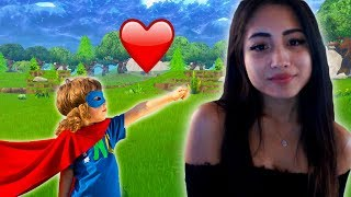 Download Little Kid On Fortnite Defends Me From A Guy Who Insults Me In Spanish Video