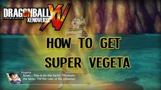 Download DBZ Xenoverse - How To Get Super Vegeta Video
