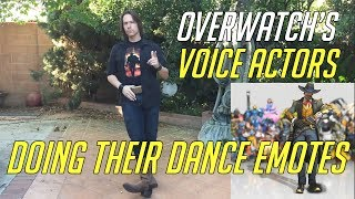 Download Overwatch Voice Actor Doing Their Dance Emotes | Including Genji, Sombra, Lucio Tracer & More Video