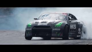 Download 1300HP Daigo's 「FAT FIVE Racing HKS R35 GT-R」 for Formula Drift USA 2017 Video