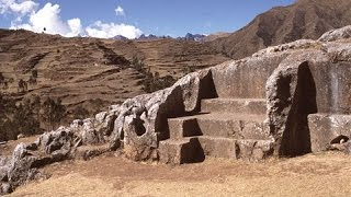 Download Exploring Megalithic Chinchero Near Cusco In Peru Video
