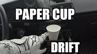 Download Initial D Mythbusters: AE86 Paper Cup Drifting Video