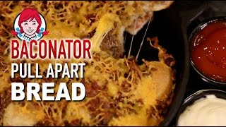Download Wendy's Baconator Pull Apart Bread Video