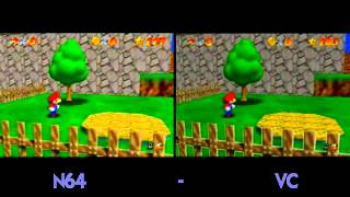 Download N64 vs Virtual Console on the Wii (VC) Video