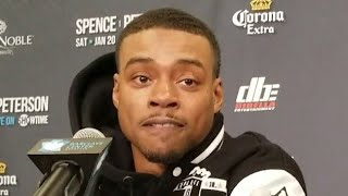 Download ERROL SPENCE REACTS TO MIKEY GARCIA CALLING HIM OUT Video