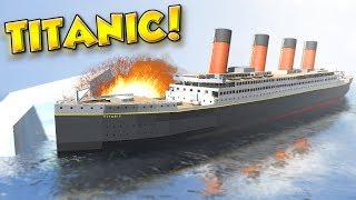 Download SINKING OF THE TITANIC! - Disassembly 3D Gameplay - Taking Apart and Sinking the Titanic! Video