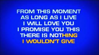 Download Shania Twain - From This Moment On (Karaoke HD) Video