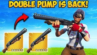 Download *NEW* HOW TO DOUBLE PUMP IN SEASON 7! - Fortnite Funny Fails and WTF Moments! #446 Video