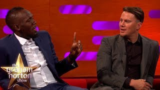 Download Usain Bolt Lost To Kevin Hart In A Race!   The Graham Norton Show Video