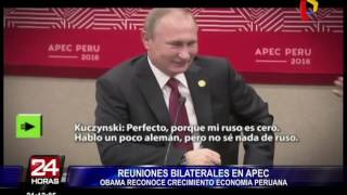 Download APEC 2016: presidente Kuczynski sostuvo reunión con Barack Obama Video