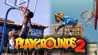 Download MY VOICE IS IN NBA PLAYGROUNDS 2 OFFICIAL GAMEPLAY TRAILER! SEASON MODE, 4 PLAYER ONLINE MATCHES ETC Video