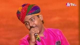 Download Jasu Khan - Kesariya Balam Padharo Mhare Desh - Liveshows - Episode 28 - The Voice India Kids Video