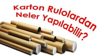 Download Karton Rulolardan Neler Yapılır   What Can I do With Cardboard Roll? Video
