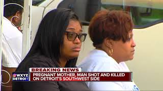 Download Pregnant mother, man shot and killed on Detroit's southwest side Video