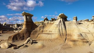 Download The Enchanted Fairyland of Bisti Wilderness, New Mexico, USA in 4K Ultra HD Video