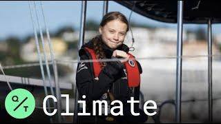 Download Greta Thunberg Arrives in Lisbon, En Route to Madrid for COP25 Video