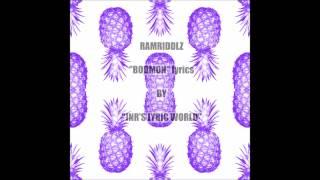 Download RAMRIDDLZ ″BODMON″ LYRICS Video
