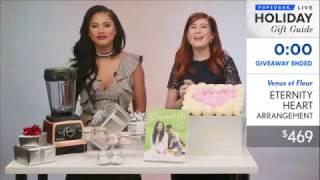 Download VENUS ET FLEUR Featured in PopSugar Gift Guide December 2016 Video