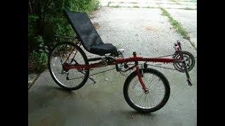 Download will it ride? recumbent bike from a garage sale Video
