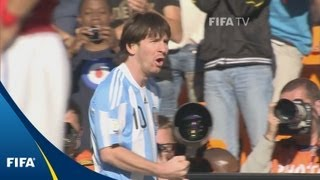 Download Messi and Argentina blow past Koreans Video
