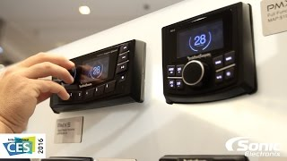 Download Rockford Fosgate Marine and Powersport Source Units | CES 2016 Video