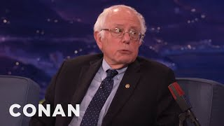 Download Senator Bernie Sanders: Donald Trump's Tweets Are ″Delusional & Insane″ - CONAN on TBS Video