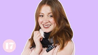 Download 10 Cute Ways to Tie a Blanket Scarf | Style Lab Video
